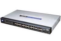 Vysoce výkonný switch LinkSys