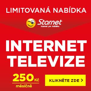 Internet a televize v ulici Podskalská - limitovaná nabídka