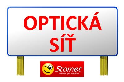 internet na optické síti