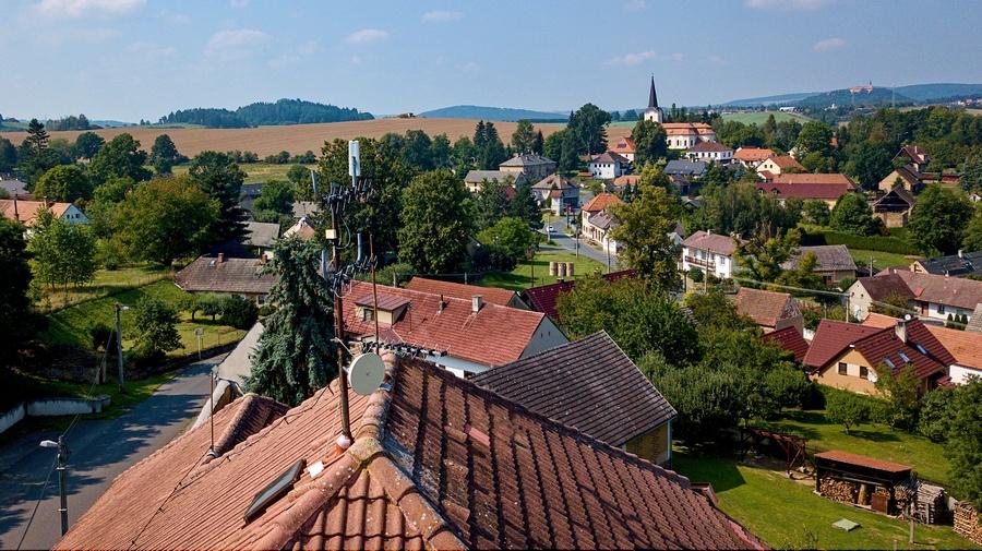 Obec Mileč - ilustrační foto
